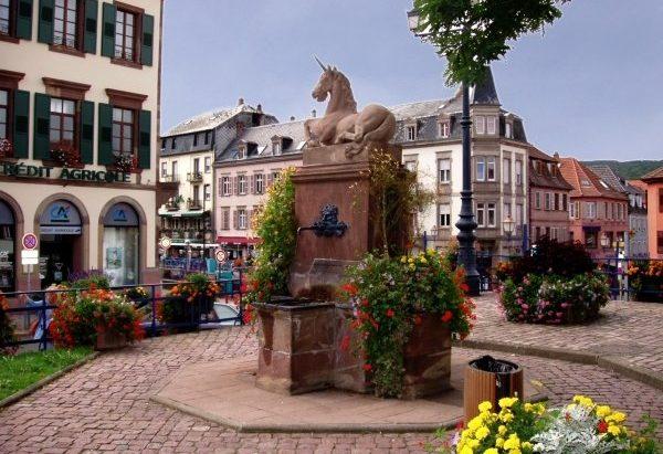 La Fontaine de la Licorne