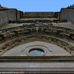 Voussure du grand portail