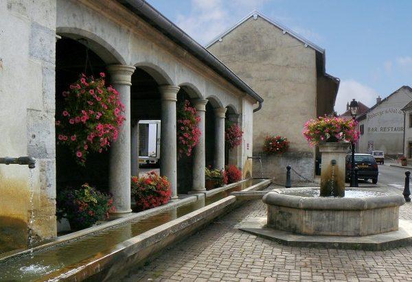 La Fontaine Place Michle Vautrot