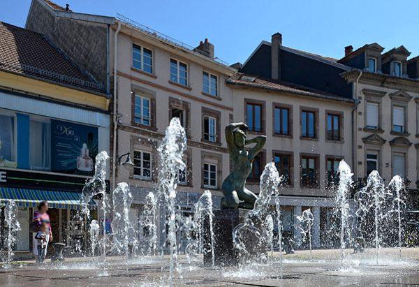 """La Fontaine """"La Grande Matinée"""""""