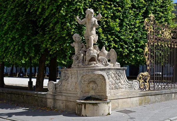 La Fontaine des Angelots à l'Oiseau