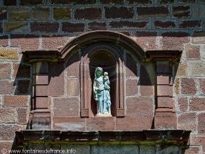 Statue de la Vierge à l'Enfant