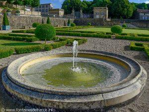 La Fontaine du Jardin de l'Abbaye