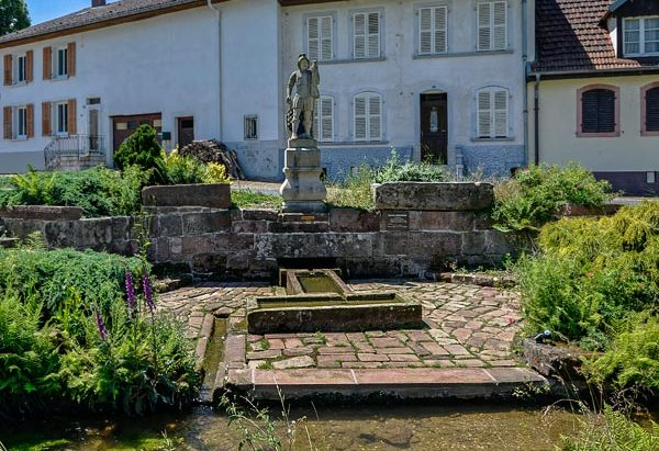 La Fontaine Miraculeuse Saint-Quirin