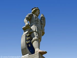 Statue de Saint-Quirin