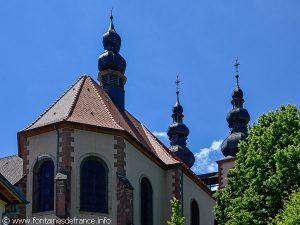 Les trois clochers de l'Eglise