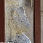 Le cochon accompagnant St-Antoine