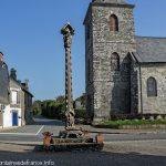 L'église et la Croix