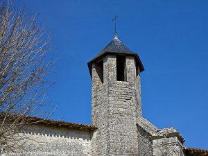 La tour octogonale de l'église