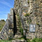 Escalier d'accès à la Tour